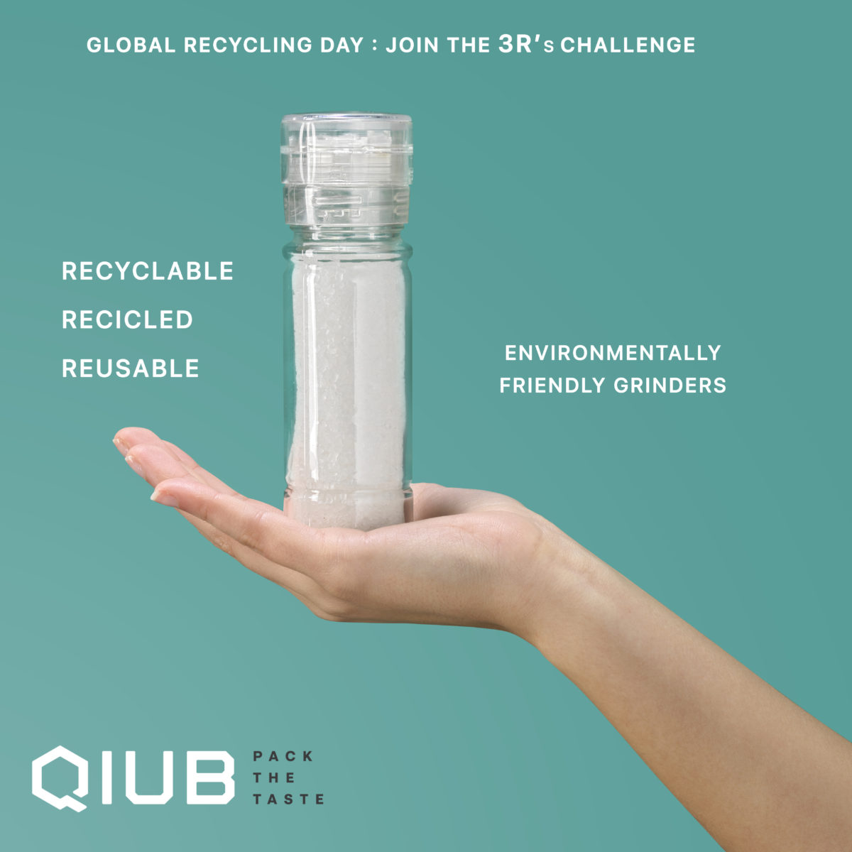 Global Recycling Day : Join the 3R's Challenge!